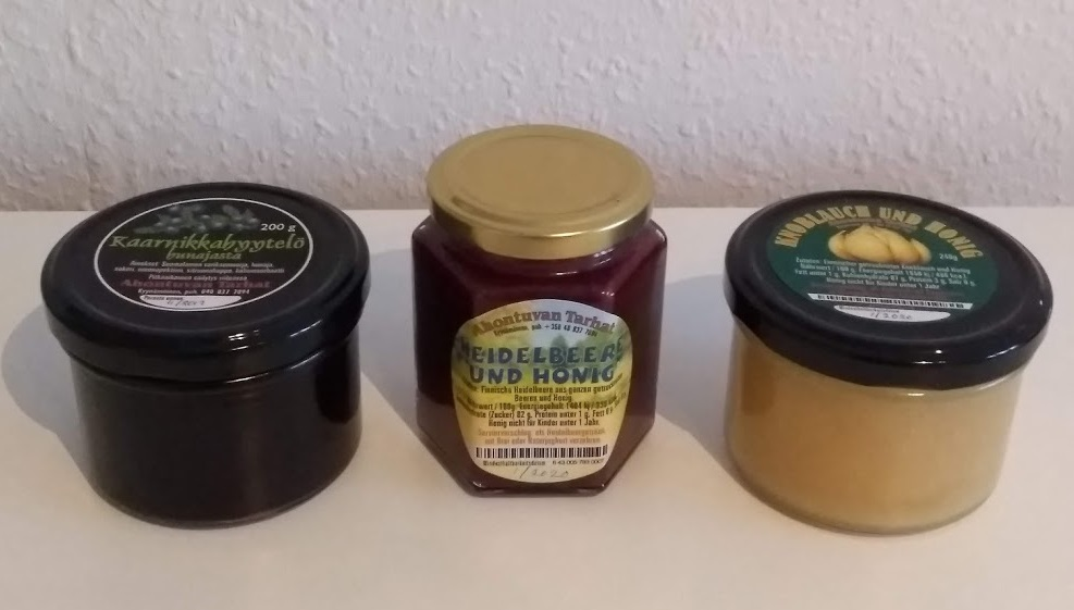 Finnischer Honig von Ahontuvan Tarhat