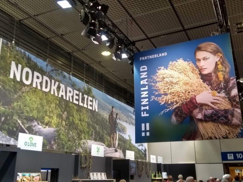 Grüne Woche 2019 - die finnische Messehalle