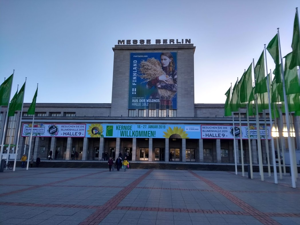 Messehallen Berlin, Grüne Woche 2019