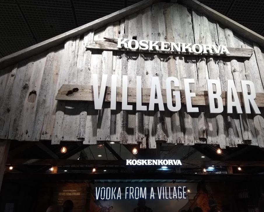 Koskenkorva Village Bar, Grüne Woche 2019 Berlin