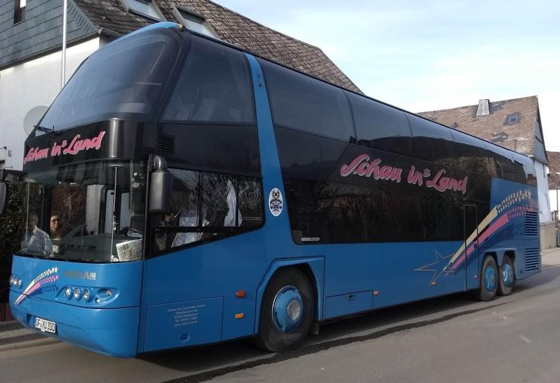 Unser komfortabler Reisebus