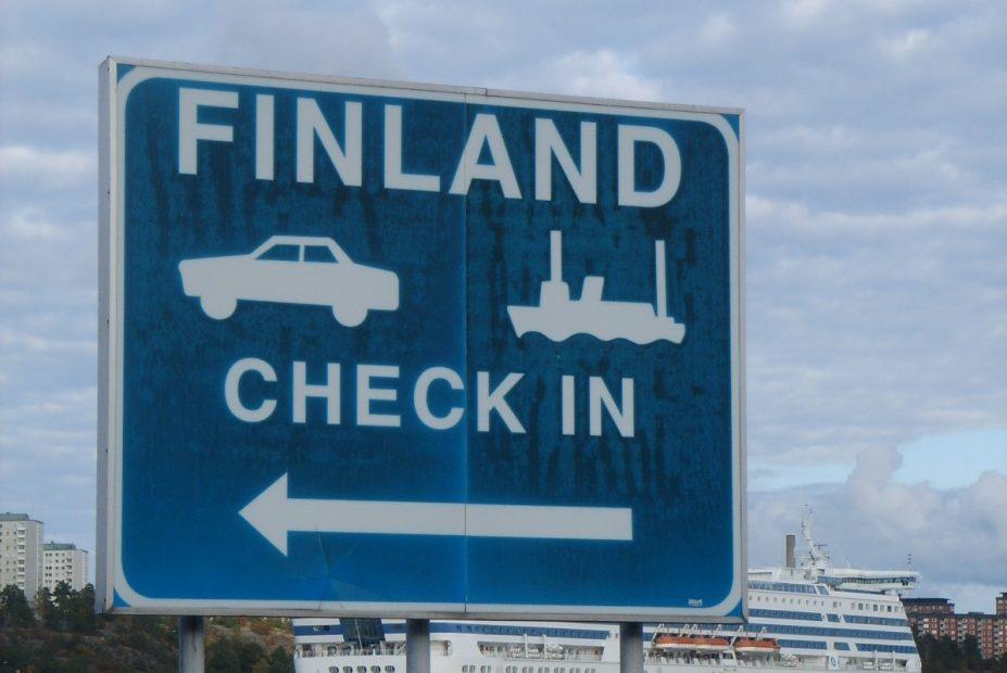 Typisch Finnisch? Mit der Fähre geht's nach Finnland