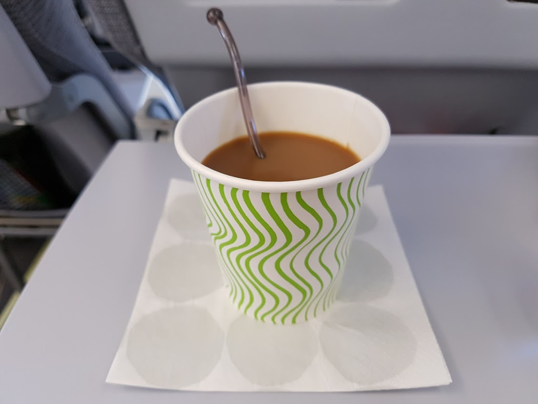 Kaffeebecher bei Finnair