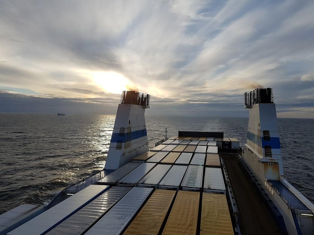 Fähre von Travemünde nach Helsinki