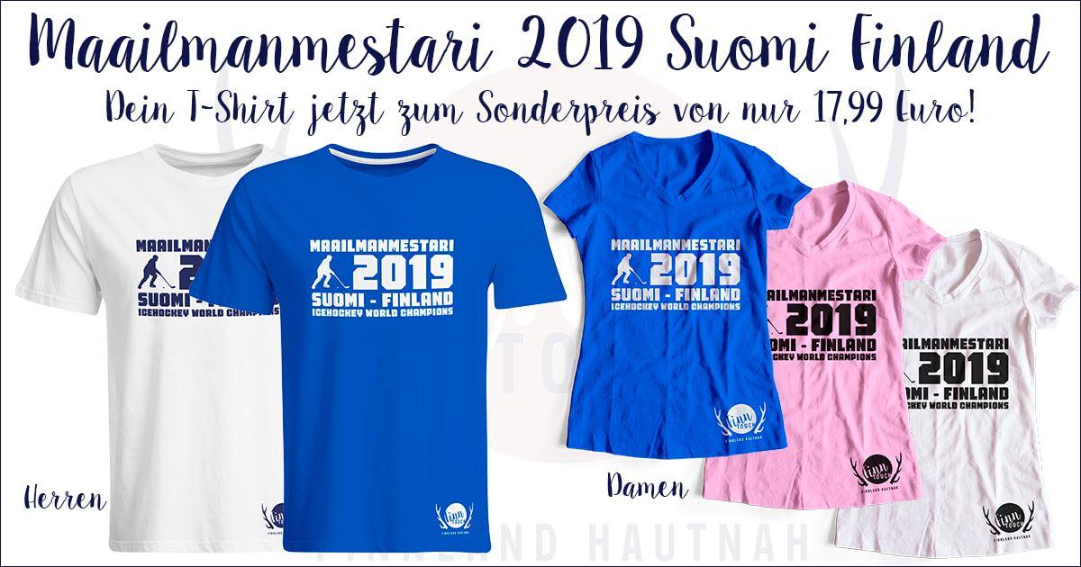 Eishockey-Weltmeister 2019 Finnland T-Shirt