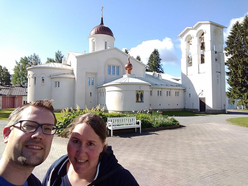 FinnTouch im Kloster Uusi Valamo