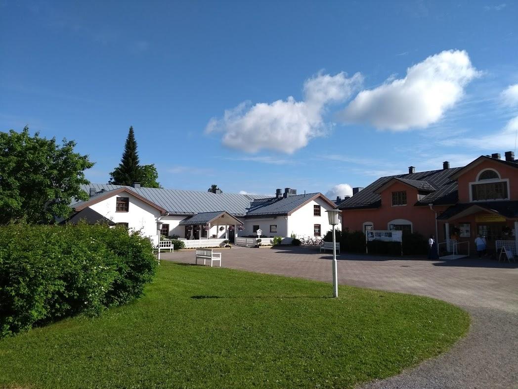 Restaurant und Souvenirshop in Uusi Valamo