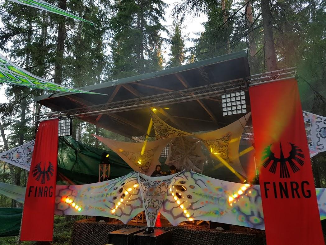 FINRG at Levitation Stage, Kosmos Festival