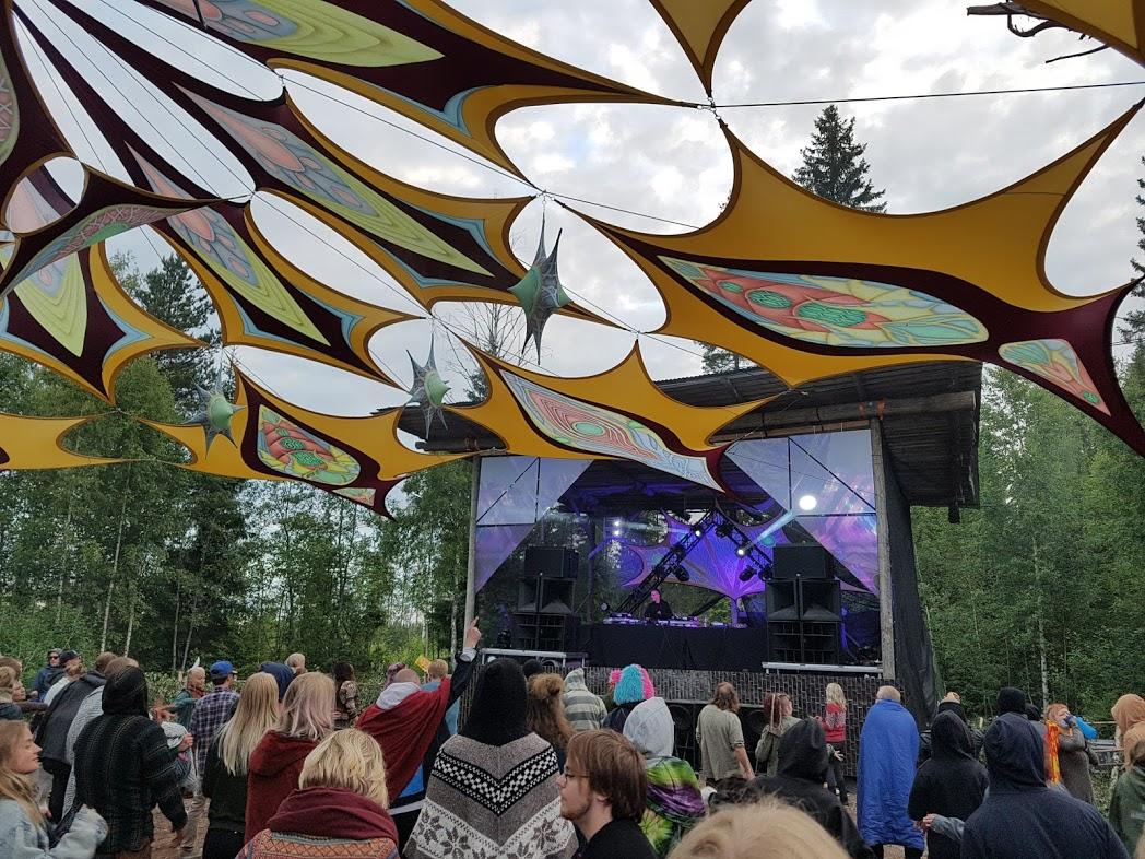 DJ Orkidea beim Kosmos Festival 2019