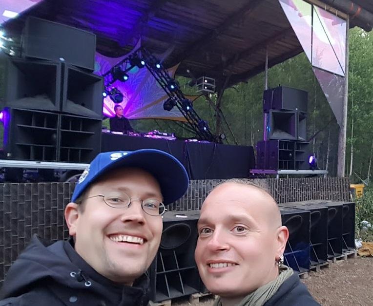 """FinnTouch-René und Harri """"Proteus"""" Andersson beim Kosmos Festival"""