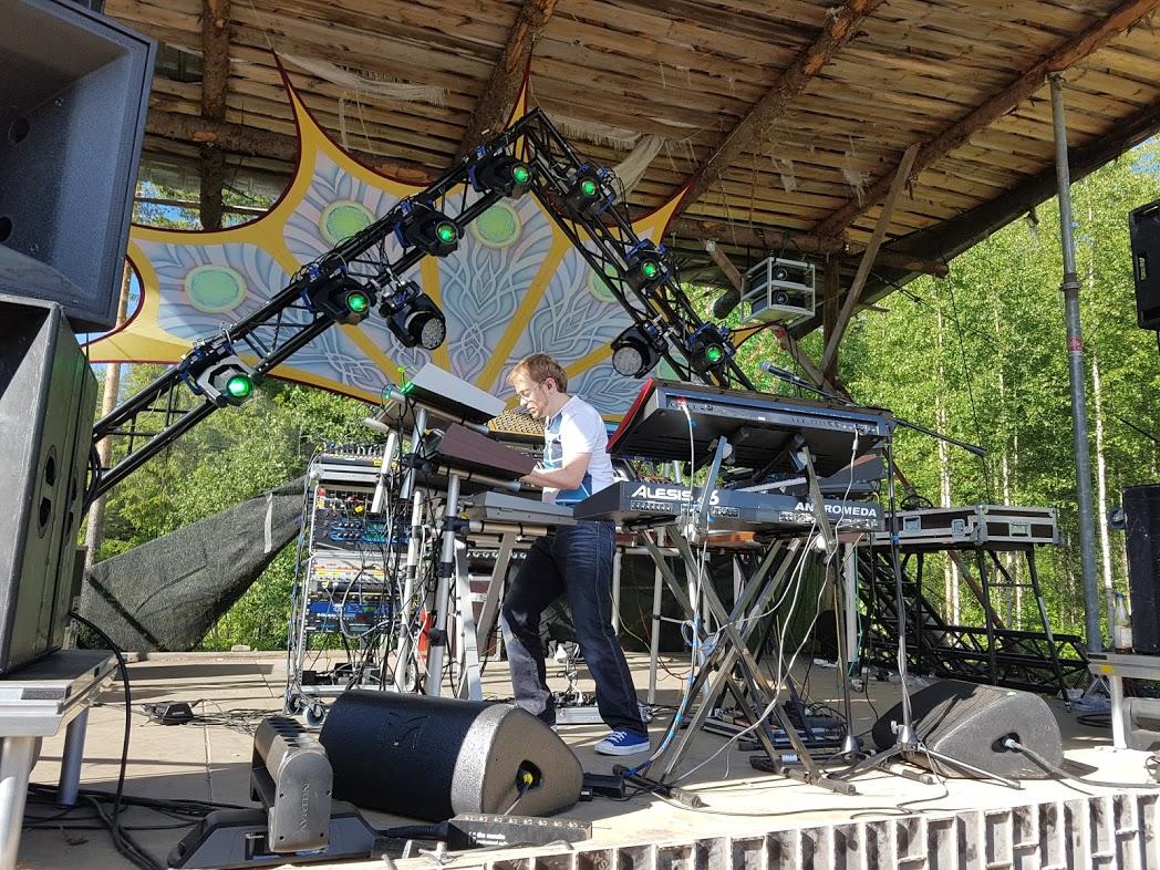 Kebu live at Kosmos Festival 2017
