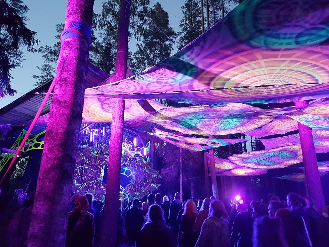 Vortex-Stage beim Kosmos Festival