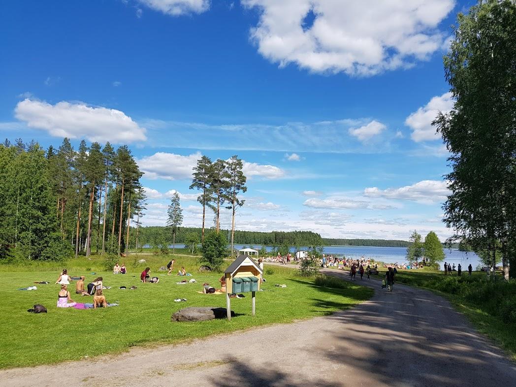 Gelände des Kosmos Festivals