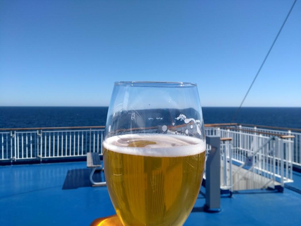 Finnisches Bier auf der Fähre