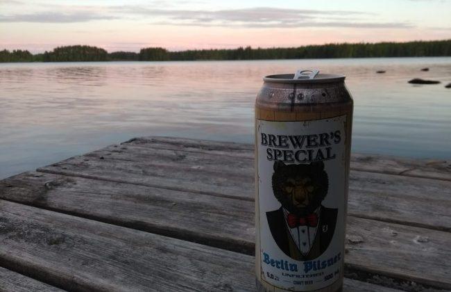 Craft Beer aus Finnland - Genuss am finnischen See