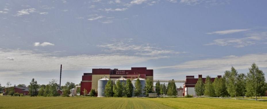 Produktionsstätte von Laihian Mallas in Laihia