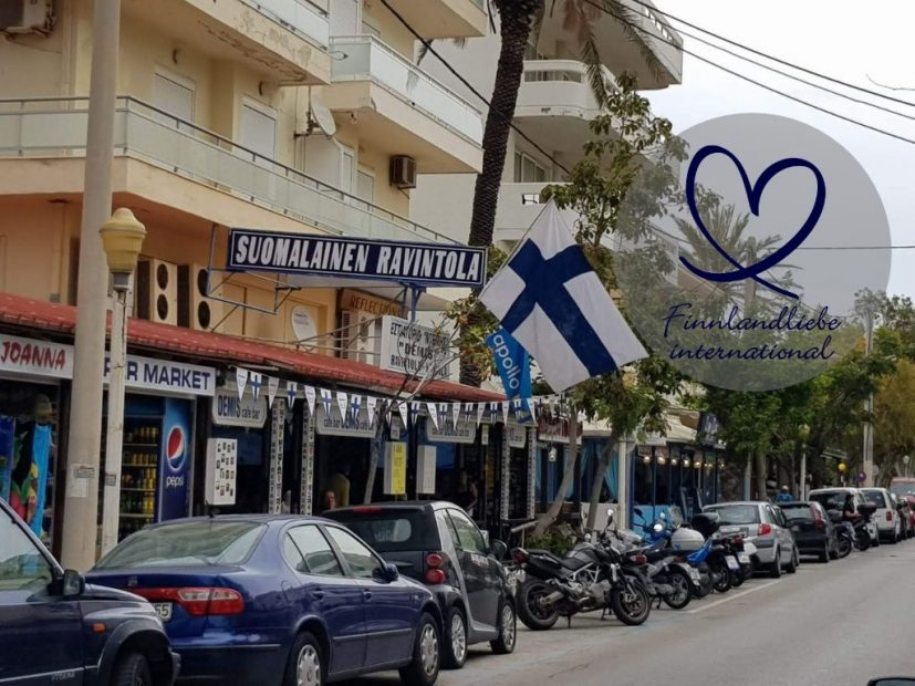 Finnland auf Rhodos - das Restaurant Demis in Rhodos-Stadt