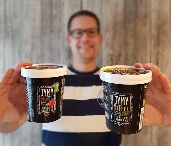 Jymy Bio-Eis Sorten Zwei Beeren und Kiefer