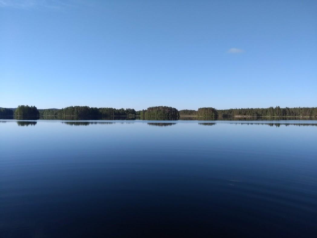 See mit Inseln in Finnland