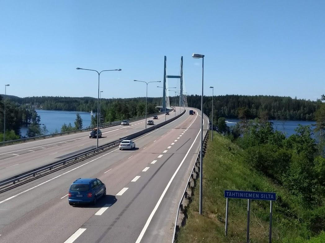 Autobahn in Finnland