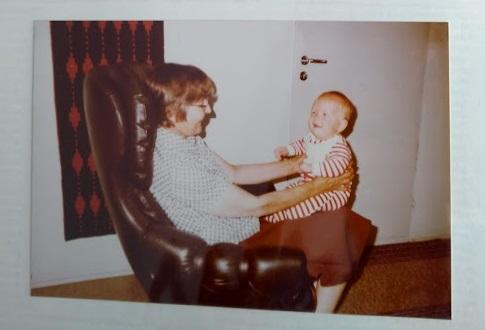 Papa Renés erste Finnland-Reise im Jahr 1982