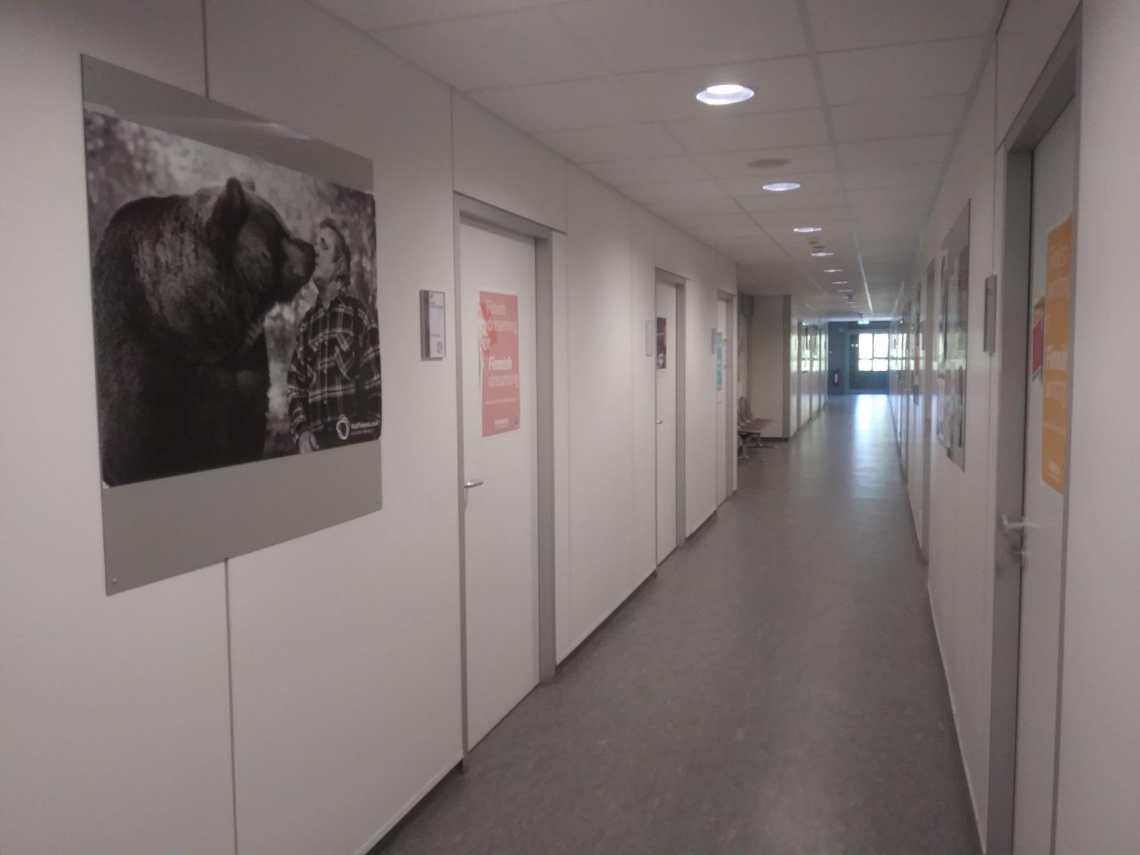Fennistik studieren in Köln - Korridor im Institut für Fennistik Köln