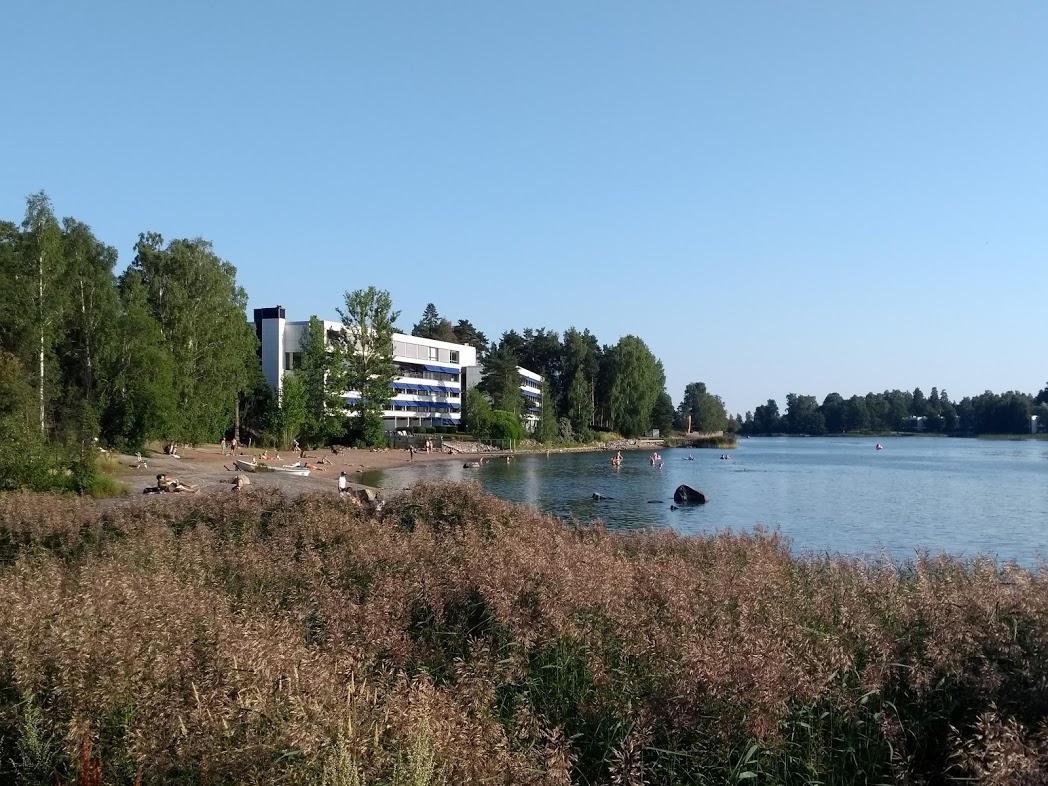Ausblick vom Café Torpanranta, Helsinki