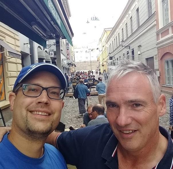 Treffen mit Fußballtrainer Torsten Damm