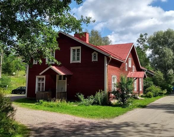 Holzhaus in Fiskars