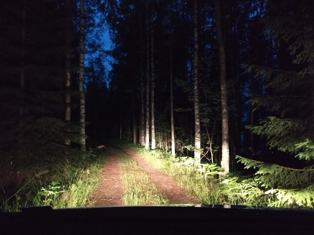 Weg zum Mökki
