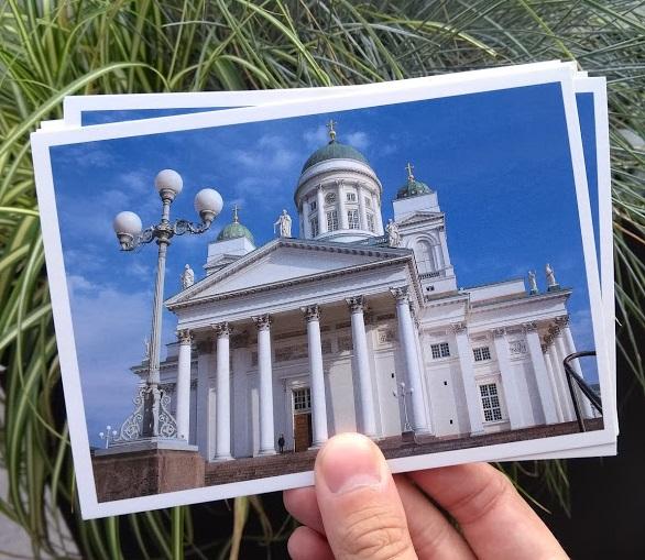 Postkarten aus Helsinki