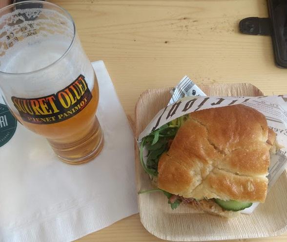 Bier und Essen beim SOPP 2019