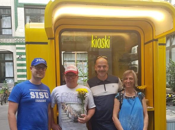 Team des Kioski Berlin