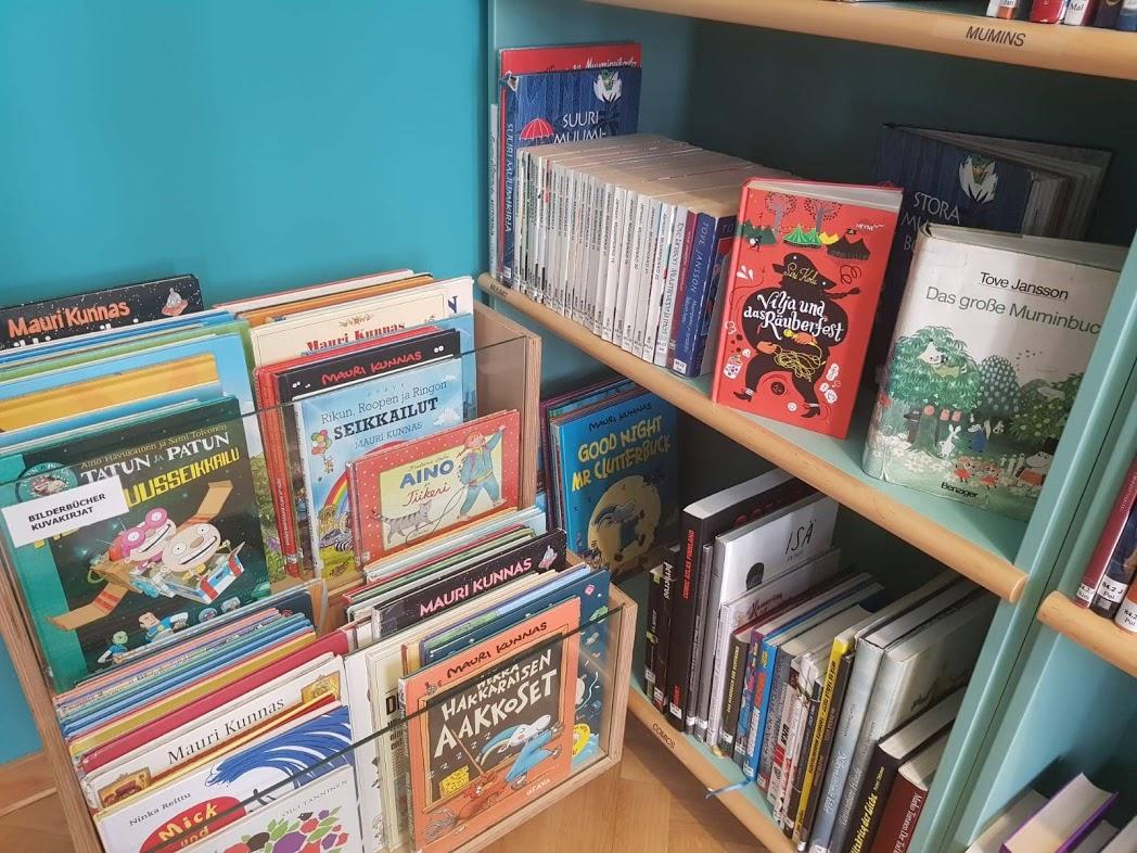 Kinderbücher im Finnland-Institut in Deutschland