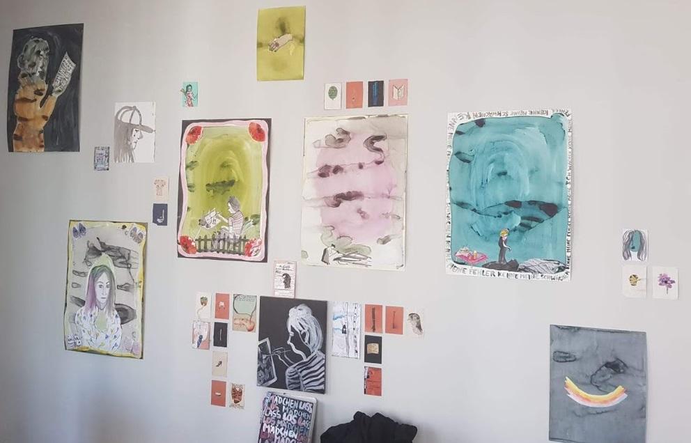 Kunstwerke der finnischen Künstlerin Niina Lehtonen Braun