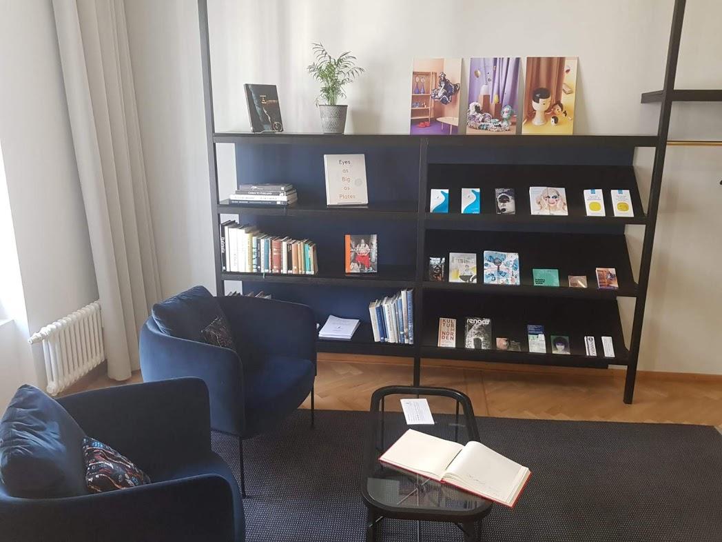 Leseecke im Finnland-Institut in Deutschland in Berlin
