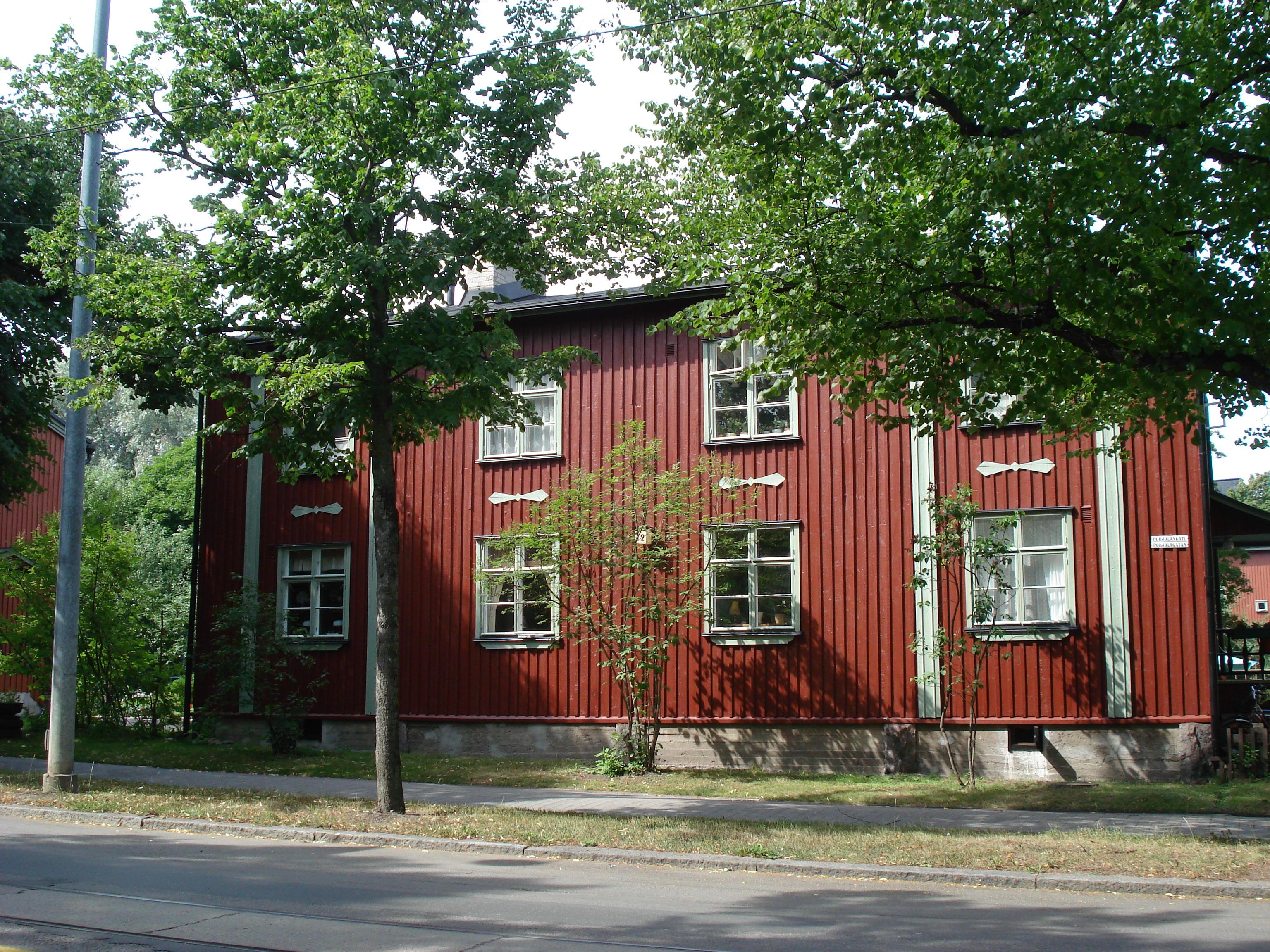 Helsinkis Stadtteil Käpylä