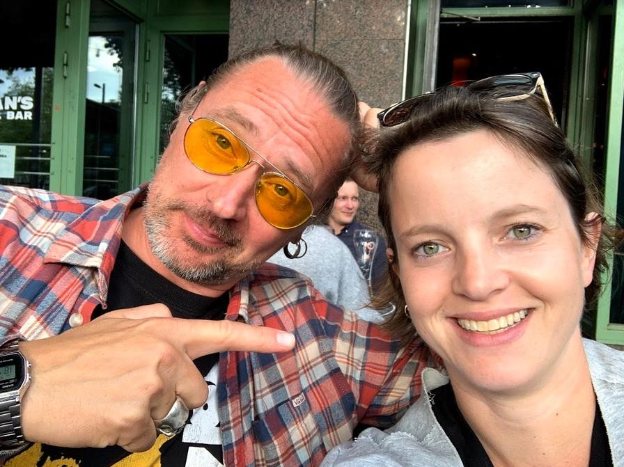 Kimmo Härmä und Tanja von FinnTouch