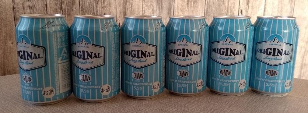 6 Dosen Original Longdrink Iceman Edition
