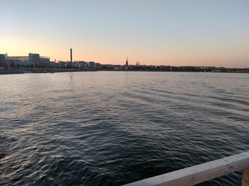 Blick vom Hernesaaren Ranta Helsinki