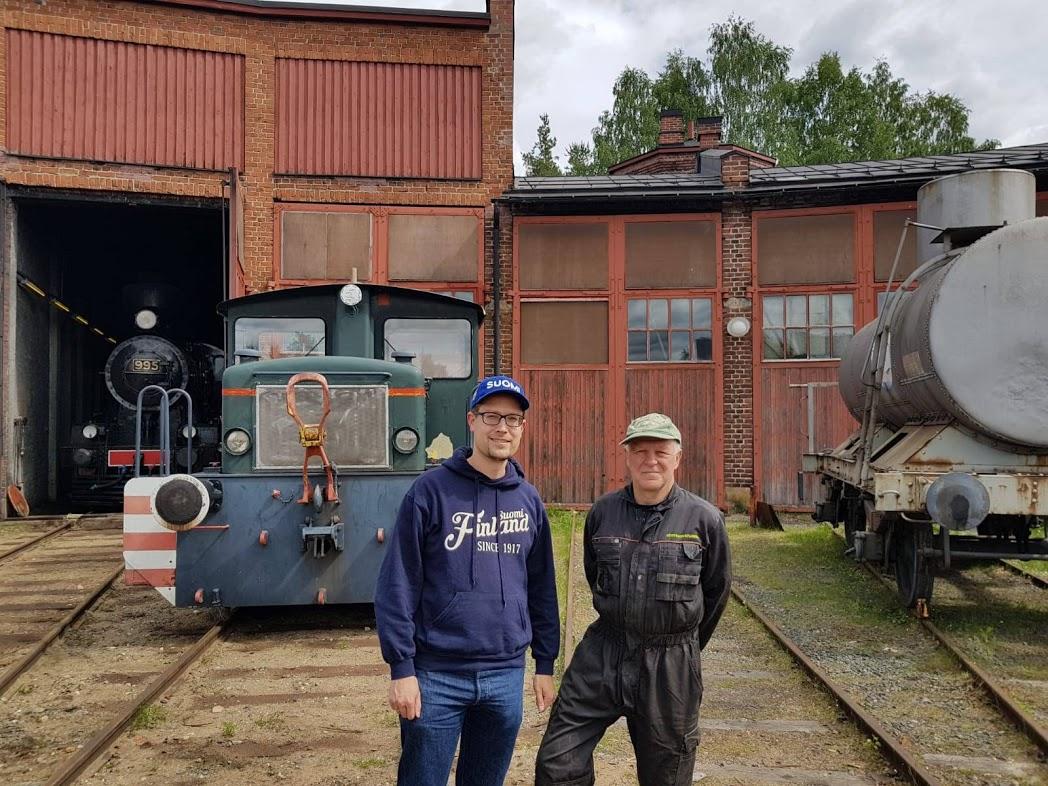Tapio Laaksomies von Steamrail - Höyryraide Nurmes