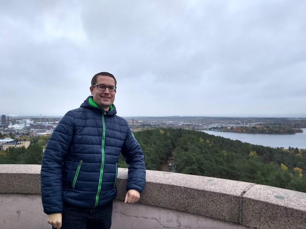 Blick vom Pyynikki-Aussichtsturm in Tampere