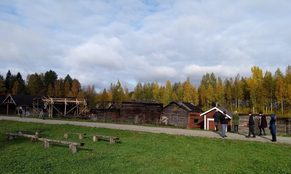 Rauchsaunadorf in Jämsä