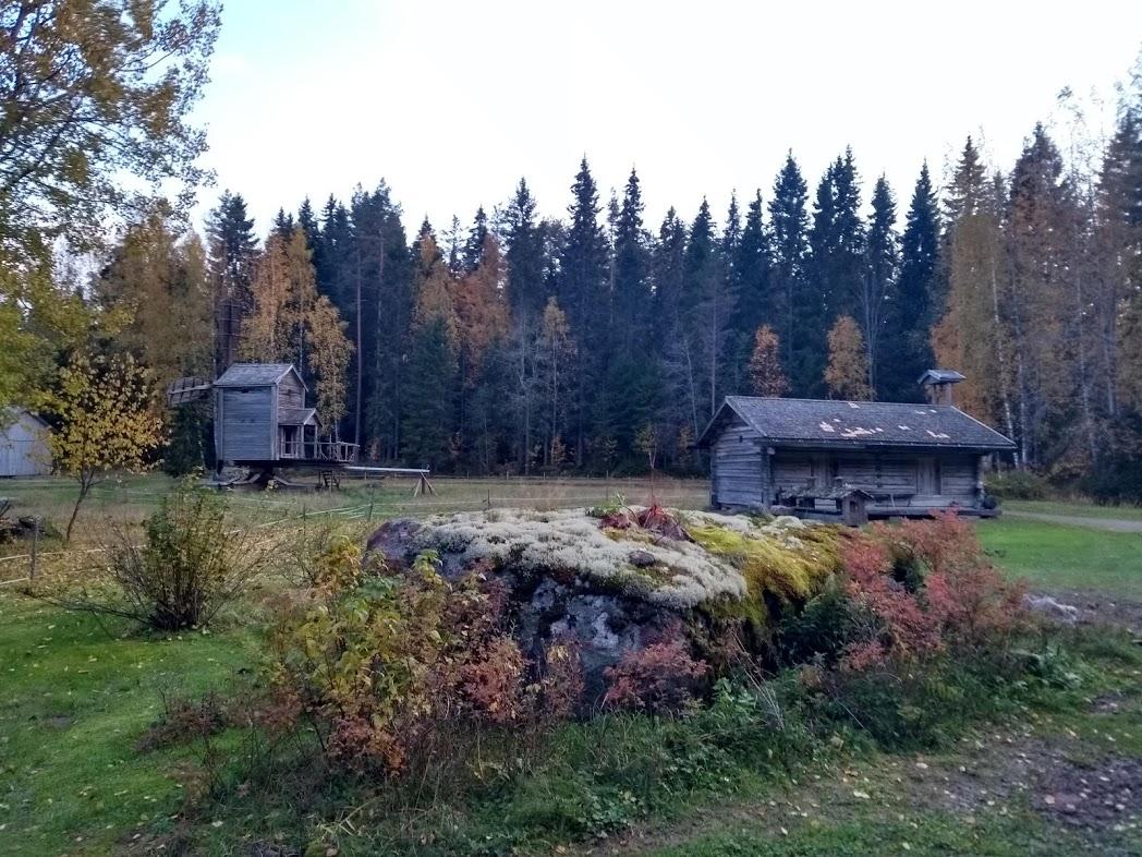 Koskela im Herbst