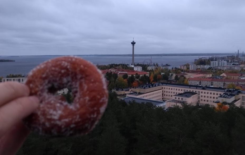 Ausblick vom Pyynikki-Aussichtsturm, Tampere