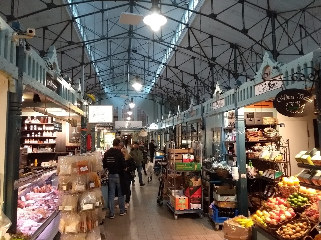 Markthalle Tampere