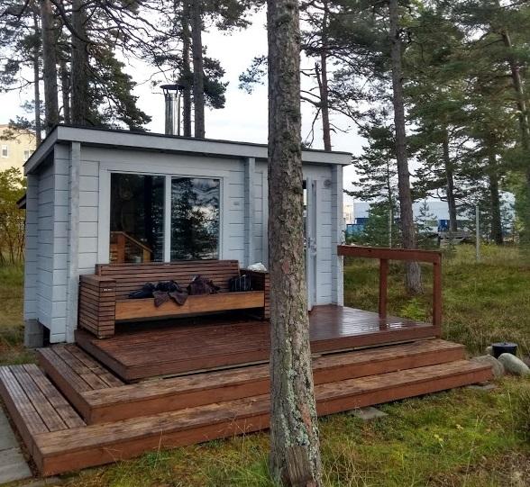 Sauna bei TylöHelo, Hanko