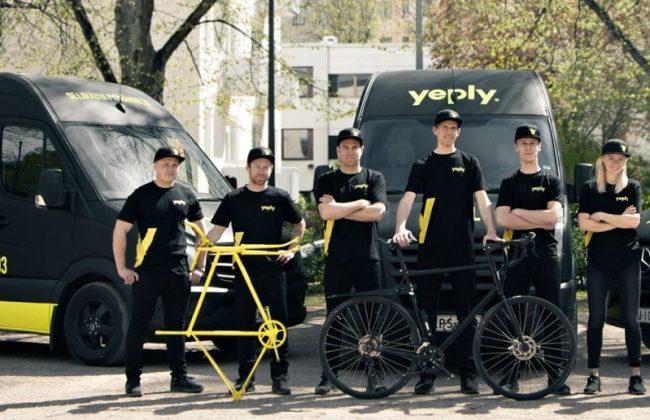 Der mobile Fahrradreparaturdienst Yeply