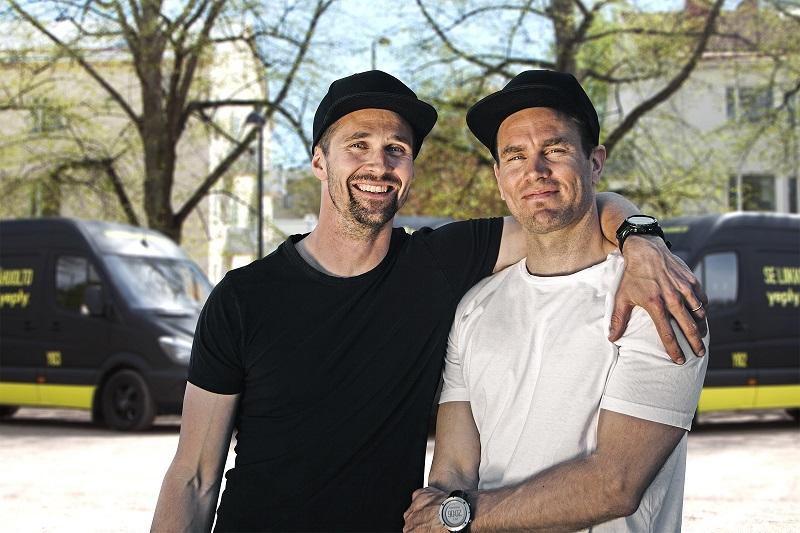 Die beiden Yeply-Firmengründer Antti und Tommi