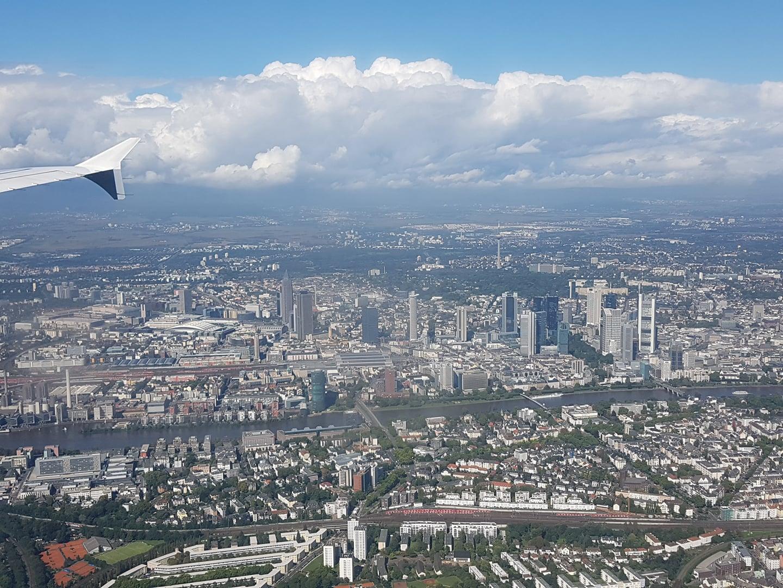 Frankfurt am Main aus der Luft